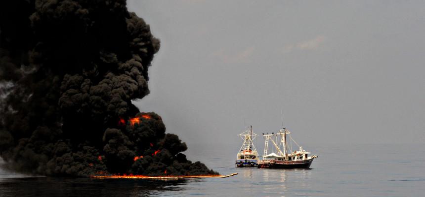 Shrimp Boats / Oil Spill